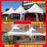 屋外の宴会の直径8mのための卸し売り十字ケーブルの小尖塔のテント50人のSeaterのゲスト