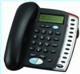 Telefoon 1 Bleek X van VoIP; 1 LAN VAN X (DV820P)