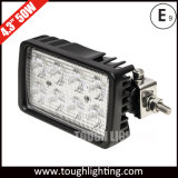 旋回装置ブラケットが付いている6inch 40Wの側面の台紙LED作業ランプ