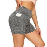 Nova 80% nylon 20% mulheres Licra Workout Ginásio Fitness Calças de ioga Perneiras para alta Estrangulados Nu sentir
