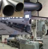 La fourniture de gaz en acier en plastique de l'eau de pipe de HDPE siffle la ligne d'extrusion
