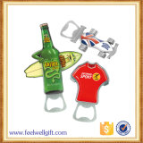 Custom Iron Zinc Alloy Logo Metal Flat Bottle Opener