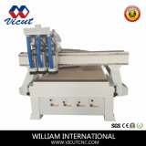 Auto projeto de máquina do router do CNC do cambiador do eixo para o Woodworking (VCT-1325ASC3)