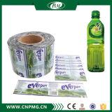 Étiquette de chemise de rétrécissement de PVC/Pet pour l'emballage de bouteille