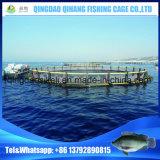 海の養魚場、海のケージ、魚のケージの農場の浮遊