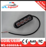 Gelbes 24V 4 LED warnendes Gitter-Licht für Emergency Fahrzeug