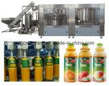 Завершите автоматический горячий жидкостный завод фруктового сока разливая по бутылкам для пульпы