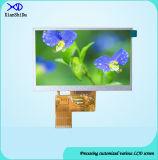 5.0 Zoll LCD-Bildschirm mit Bildschirmanzeige der Helligkeits-800 CD/M2