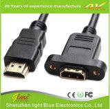 Cable de extensión HDMI para montaje en panel