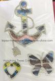 De Overdrachten van de Hitte van het Ontwerp van het Bergkristal van de Liefde van het alfabet voor T-shirts (HF-Liefde)