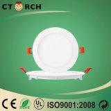 Ультратонкий свет панели 12W круглый скрынный СИД с Ce/RoHS