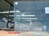 Het geharde Aangemaakte Glas van de Serigrafie met Ruwe/Poolse Rand 415mm