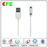 Подгонянный магнитный переходника кабеля USB 4pin для Smartwatch
