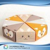KlimaPACKPAPIER-faltbarer verpackenkasten für Nahrungsmittelkuchen (xc-fbk-036)