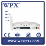 WPX 4Fe + 2 FXS + WiFi GEPON ONU