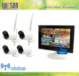 CCTV-9 Zoll Digital P2p WiFi Wireless-Touch-Screen-IP-Netzwerk-NVR-Sicherheitssystem-Kamera-Kit