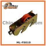 Roulement à rouleaux de la fenêtre recouvert de nylon pour rouleau de la fenêtre en alliage de zinc (ML-AT006)