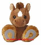L'animal mol personnalisé de cheval de jouet joue le cheval de peluche