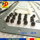 Jogo cheio da gaxeta da revisão de J07c J07e para as peças de motor Diesel de Hino