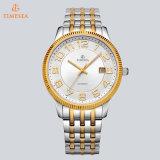 Mens van het Horloge van de luxe de Automatische Gemerkt Horloge met Leathe &Stainless Steelband 72321