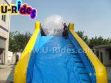 rampa gonfiabile gigante lunga di 20m per la sfera di Zorb