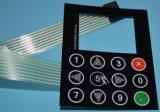 3mの接着剤が付いている英数字のキーパッドの膜スイッチ適用範囲が広い回路