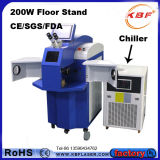 200W de Machine van het Lassen van de Vlek van de Laser van juwelen voor Metaal met Harder
