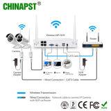 Hersteller 2MP 4CH NVR und IP-Kamera CCTV-Installationssätze (PST-WIPK04CH)