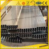 Fabrikanten 6063 van China T5 het Anodiseren het Spoor van het Aluminium voor de Staaf van het Gordijn