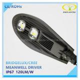 Luz de calle al aire libre del poder más elevado 30W 50W 120W 150W LED con el Ce RoHS aprobado