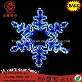 Lumière de Noël s'arrêtante imperméable à l'eau décorative du flocon de neige IP65 de DEL pour la décoration de vacances