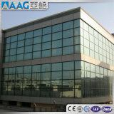 Perfil de alumínio da parede de cortina para o edifício