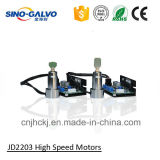Cabeça de varredura de alta velocidade da abertura do feixe do fornecedor popular Jd2203 10mm para a máquina da marcação do laser