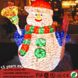 [لد] عيد ميلاد المسيح [3د] رجل ثلج ضوء لأنّ شارع