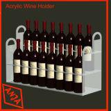 De vino de madera del gabinete de montaje en pared con Contador y cajón