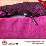 Nuovo coperchio del cuscino dei due di tono di modo di scintillio Sequins della sirena, federa
