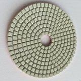 돌 폴란드어를 위한 고품질 다이아몬드 백색 젖은 닦는 패드