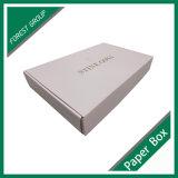 Cor-de-rosa caixa de expedição de papelão ondulado com impressão personalizada