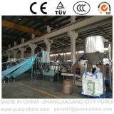 Granulatore di riciclaggio di plastica dell'espulsione con la singola vite