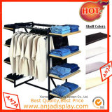 Wooden Floor Clothes display Clothes display status