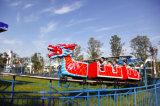Terrain de jeux d'Amusement Dragon roller coaster ride pour les enfants et adultes