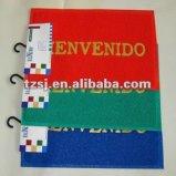 Stuoia del PVC stampata lettera che fa pubblicità alla stuoia di portello di punto del piede della stuoia