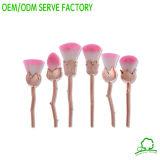 Les produits cosmétiques maquillage rose fleur Brosse brosse réglée