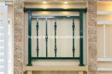 Barandilla de acero galvanizada decorativa de alta calidad 37 del balcón de la aleación de Alumiinum