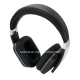 De draadloze StereoHoofdtelefoons van het over-Oor Bluetooth met Microfoon en de Controle van het Volume - Zwarte