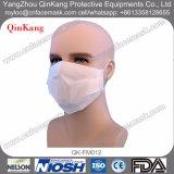 Wegwerfweißbuch-Gesichtsmaske für Nahrung, Lebesmittelanschaffung, Cleanroom, Schönheit