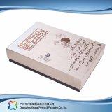 Rectángulo cosmético de empaquetado de papel rígido de lujo de la joyería del alimento del regalo (XC-1-013)
