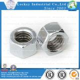 En acier inoxydable 304 mince de l'écrou hexagonal
