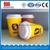 Taza de papel disponible de la venta caliente, taza de café de papel
