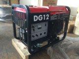 10kw Два цилиндра с водяным охлаждением Открытый дизельный генератор Ce ISO